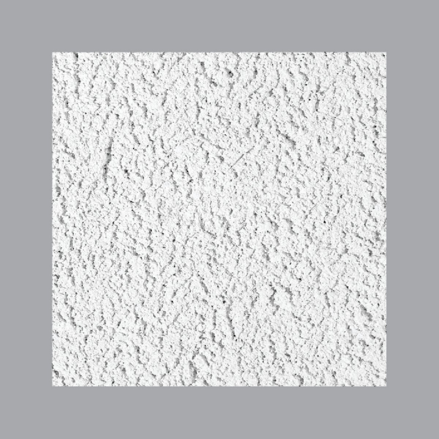 Cheyenne 2 Ft. x 2 Ft. White Cast Mineral Fiber Ceiling Tile (8-Count) Image 2