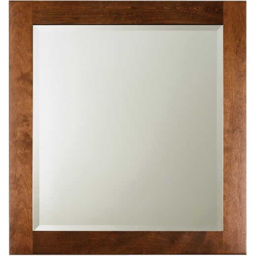 Bertch Brindle 28 In. W x 30 In. H Framed Vanity Mirror