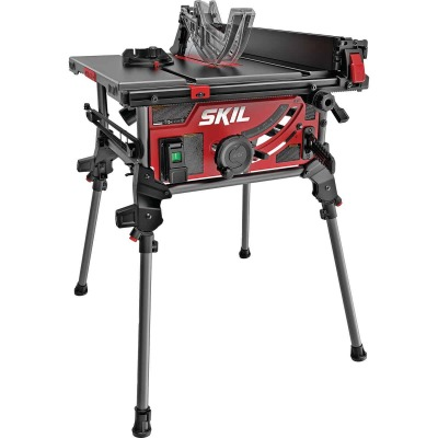 SKIL 15A 10 In. Table Saw with Integrated Folding Stand