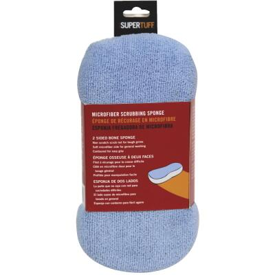Trimaco SuperTuff 4 In. W x 8-1/2 In. L Microfiber Car Wash Sponge