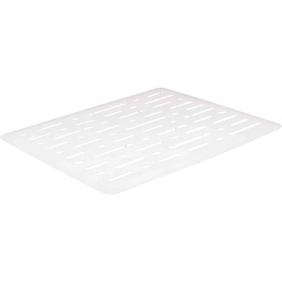 Rubbermaid 10.7 In. x 12.7 In. White Sink Mat