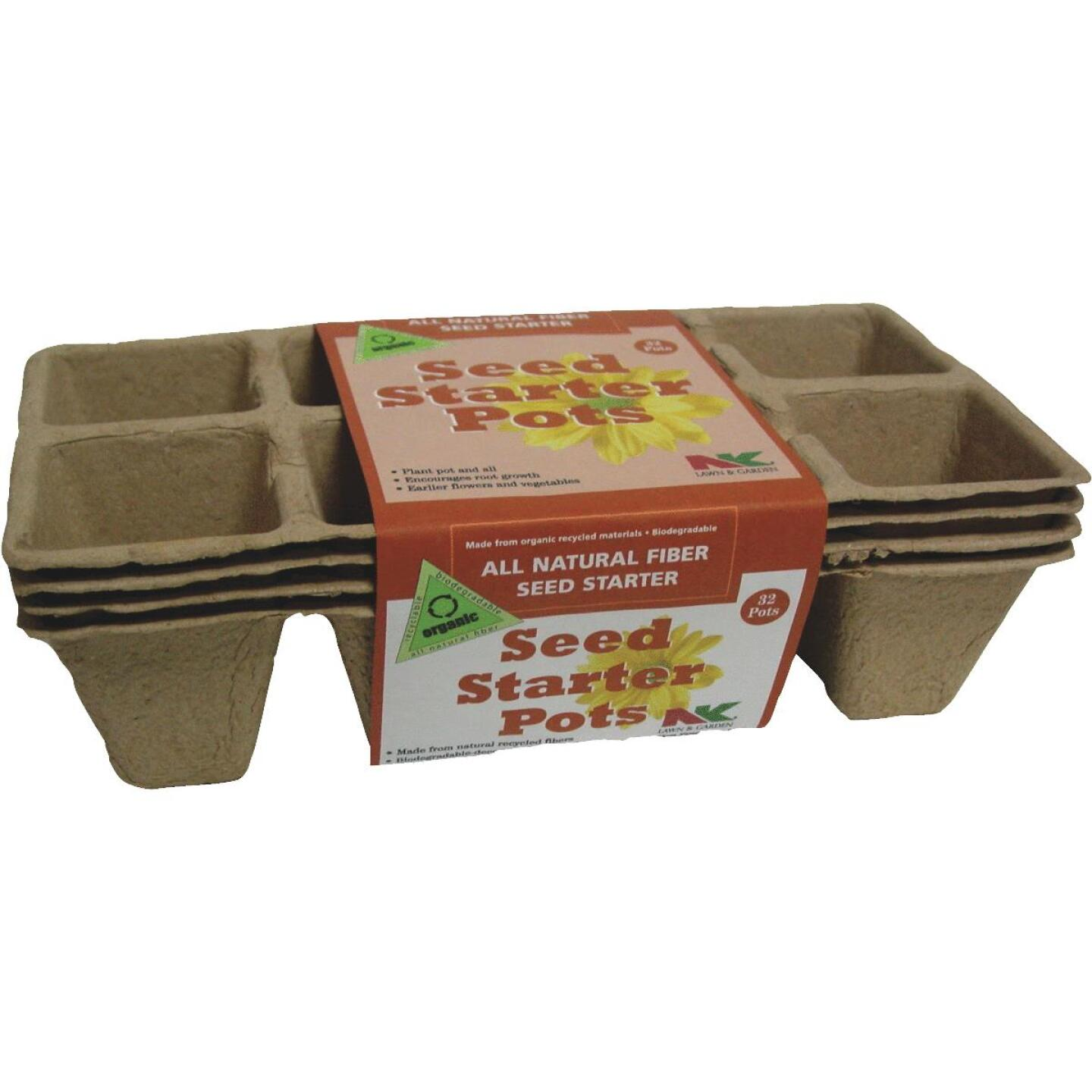 NK 2-1/4 In. W. Square Peat Pot Strips (32-Pack) Image 1